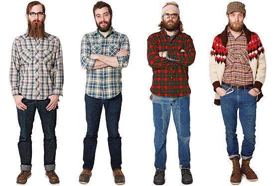 Imágenes de personas que se consideran Lumbersexual