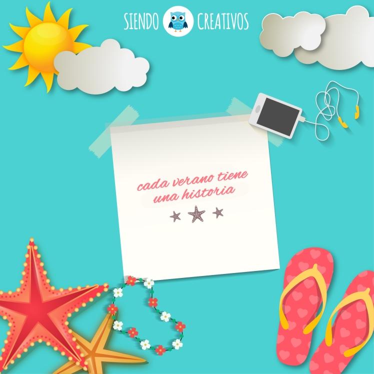 Cartel de verano gracias a SiendoCreativos.com