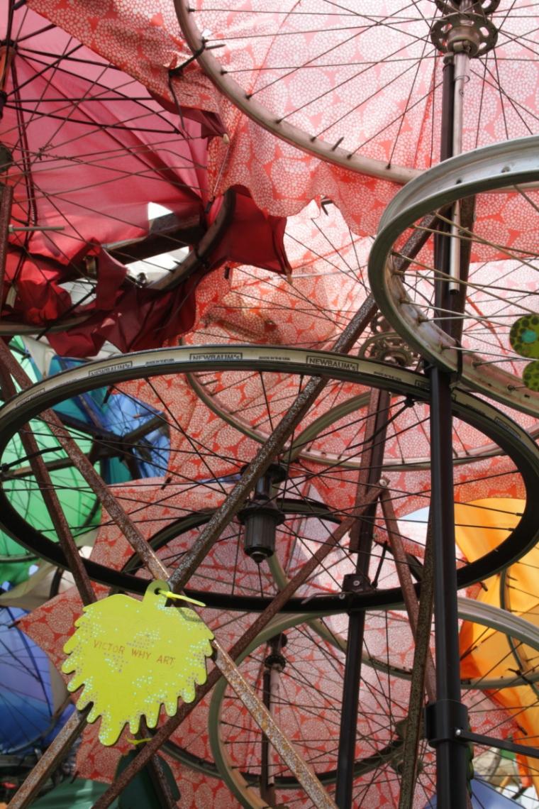 Instalacion artística en Governos Island - NYC