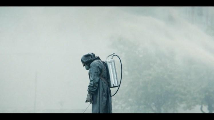 Todos Callan, post de @JgAmago en @thetopictrend imagen de Chernobyl serie de HBO
